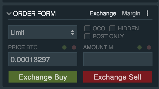 Buy IOTA with Bitfinex