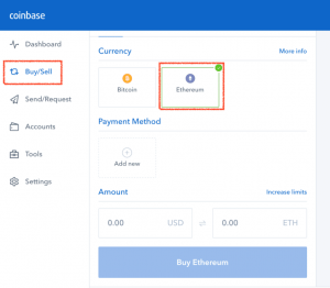 Coinbase has an easy interface, simplifying the process to buy cryptos in the UK