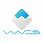 Buy Waves coin - logo