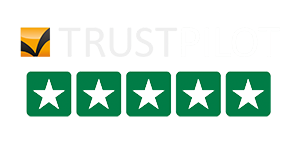 Five Star TrustPilot Score