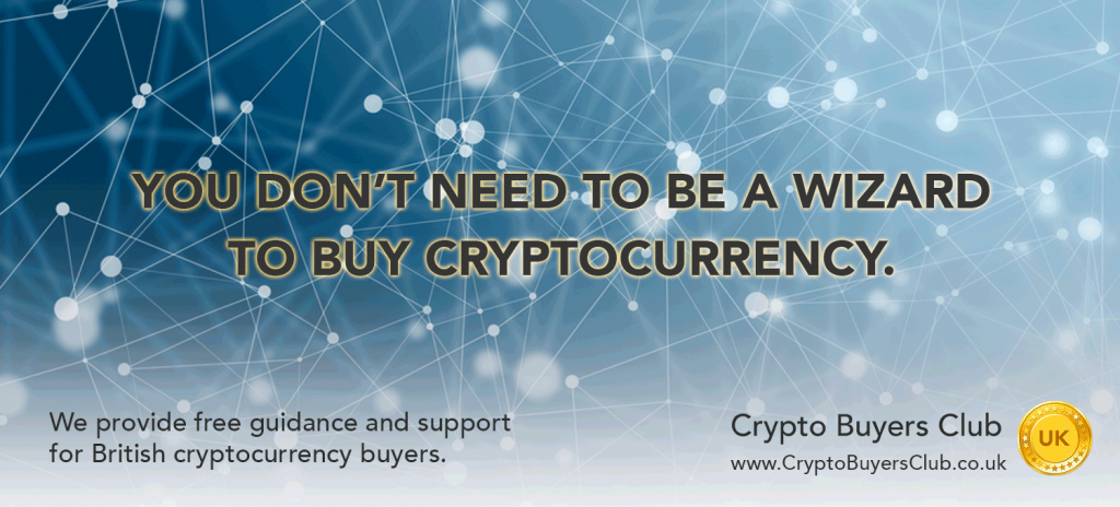 You don't need to be a wizard to buy cryptocurrency