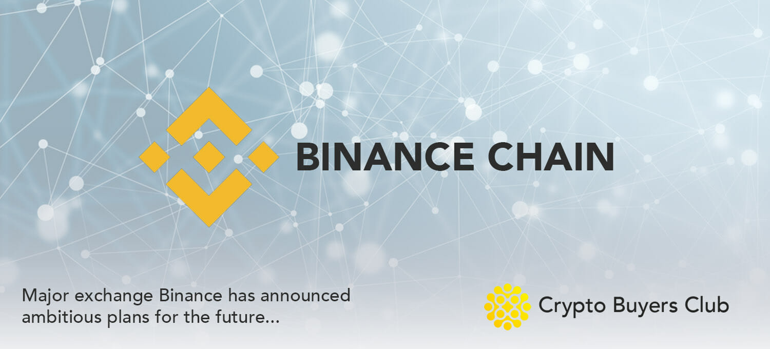 Binance announces Binance Chain, hints at Decentralised Offering