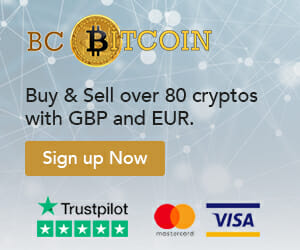 Buy cryptos with GBP at BC Bitcoin