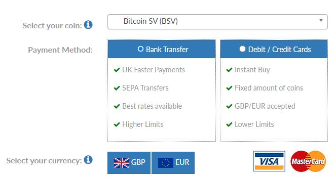 How to buy Bitcoin SV in the UK