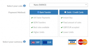 How to buy NANO UK
