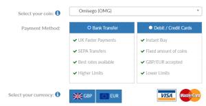 How to buy Omisego OMG UK