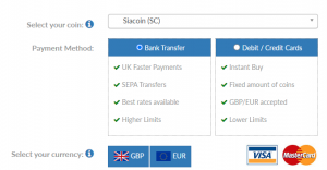 How to buy Siacoin in the UK