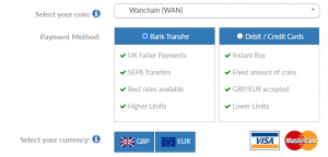 How to buy Wanchain (WAN) in the UK