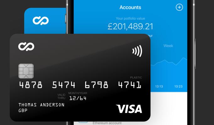 Bitcoin Debit Card CryptoPay
