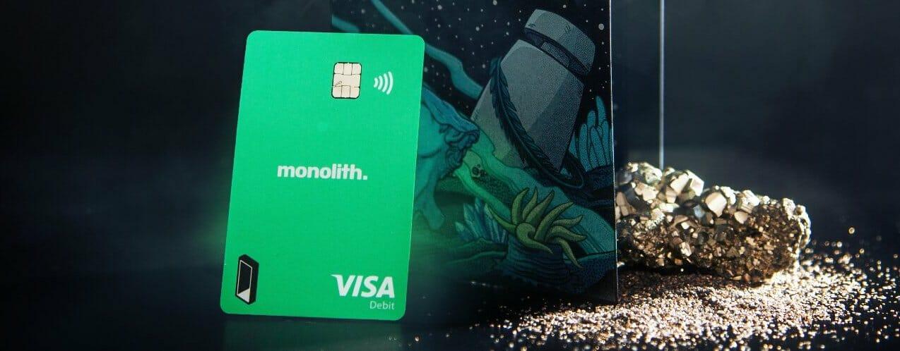 Bitcoin Debit Card Monolith
