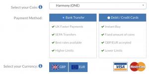 Harmony ONE on BC Bitcoin